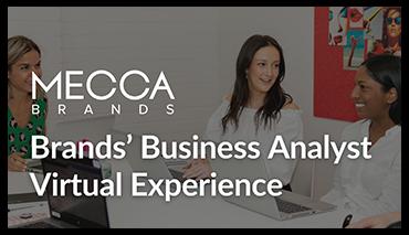 MECCA Brands Virtual Exerience
