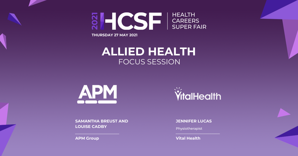 Allied Health Focus Session