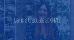 Working as a graduate in technology at KPMG