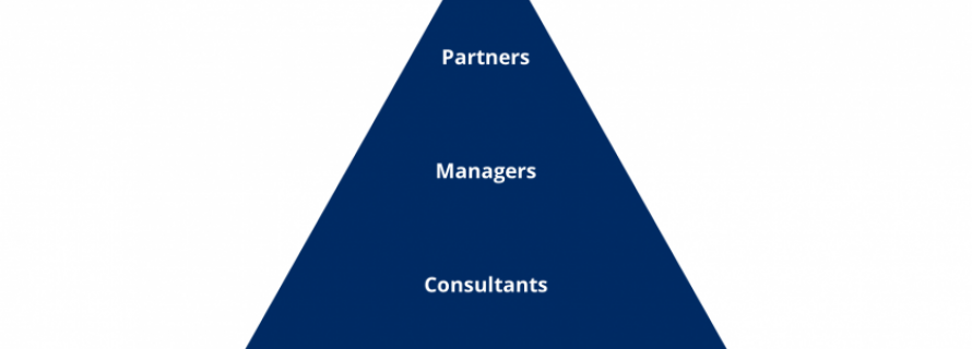 Who's who in a consulting firm