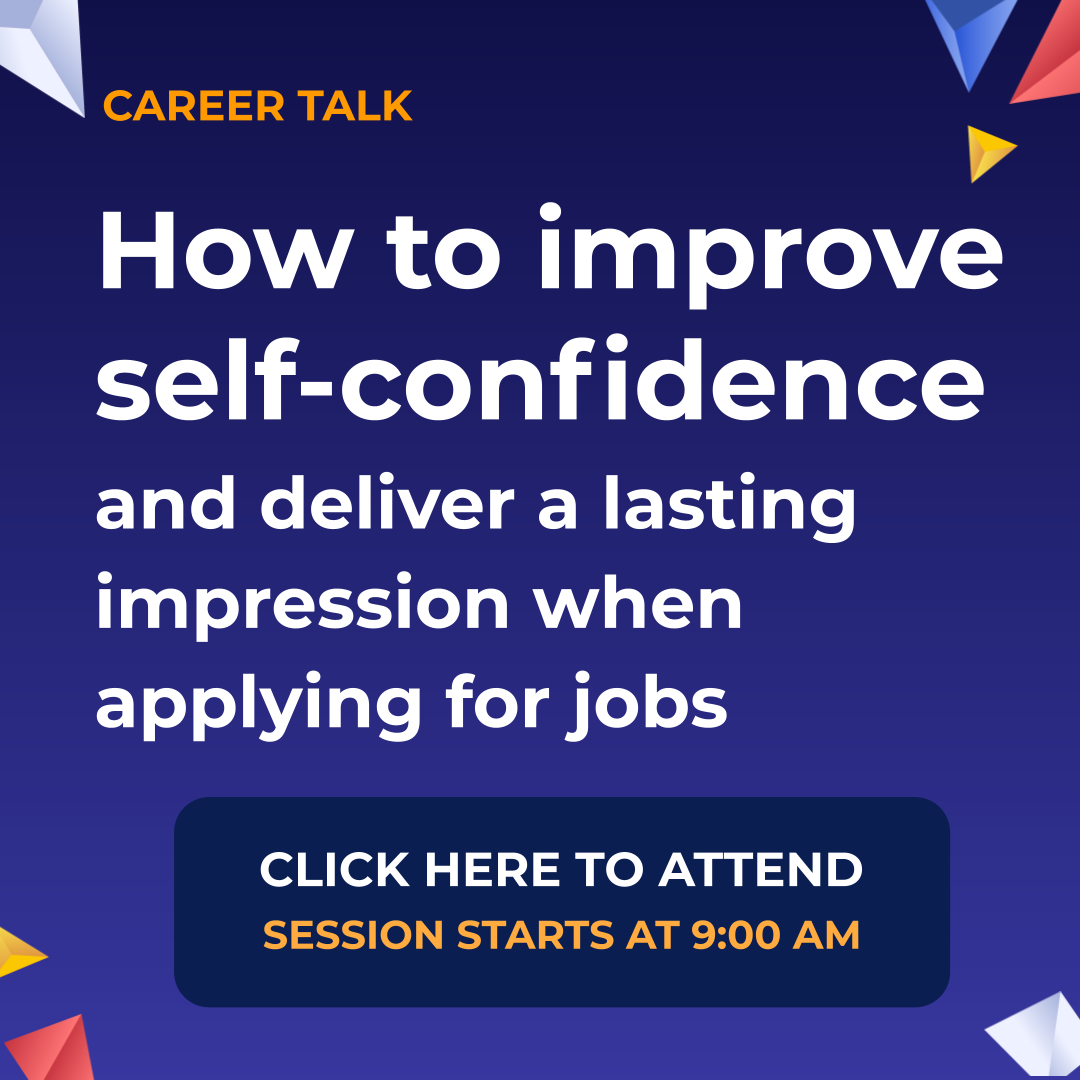 NVCSF Career Talk Self-Confidence