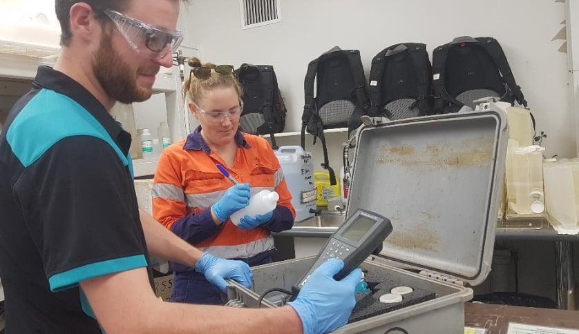 Glencore Amanda at environment laboratory