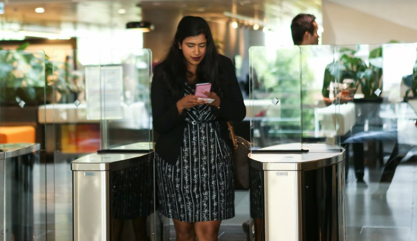 Day-in-the-life-Commonwealth-bank-Cynthia-Vaikunthan-at-train