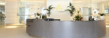 Cochlear banner