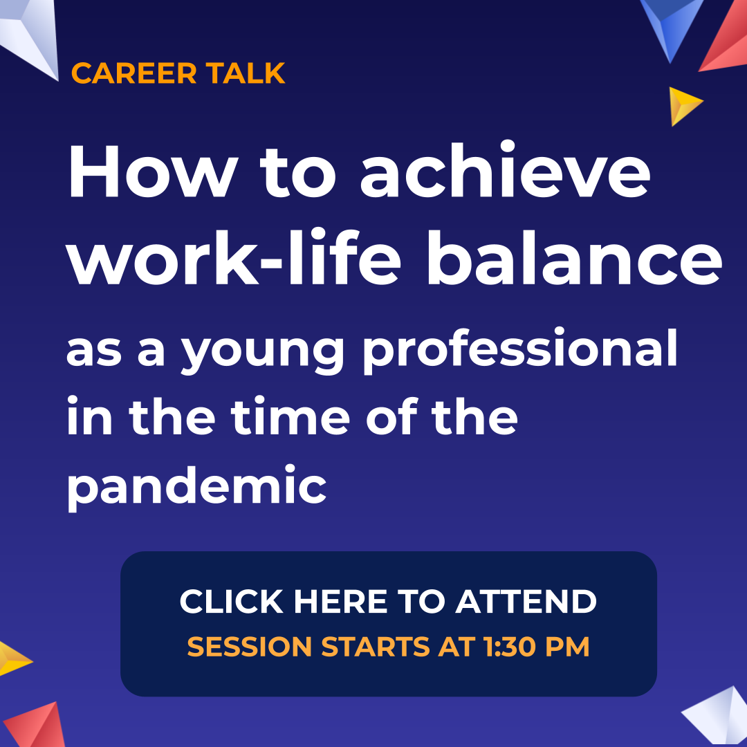 NVCSF Career Talk Work-life Balance